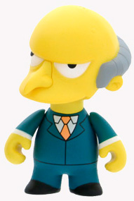 4-Inch Kidrobot Simpsons - Mr Burns