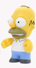 4-Inch Kidrobot Simpsons - Homer