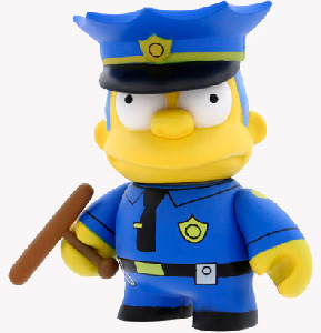 4-Inch Kidrobot Simpsons - Chief Wiggum