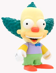 4-Inch Kidrobot Simpsons - Krusty the Clown
