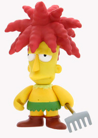 4-Inch Kidrobot Simpsons - Sideshow Bob
