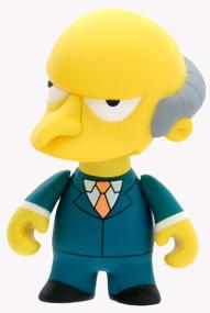 4-Inch Kidrobot Simpsons - Mr Burns