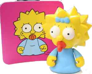 4-Inch Kidrobot Simpsons - Maggie