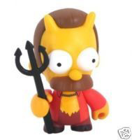 4-Inch Kidrobot Simpsons - Ned Flanders as The Devil CHASE