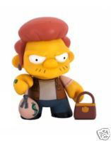 4-Inch Kidrobot Simpsons - Snake CHASE