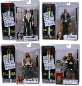 Kill Bill Series 2 Set of 4