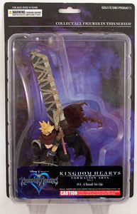 Kingdom Hearts 2 PVC - Cloud Strife