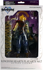 Kingdom Hearts Play Arts Vol 2 - Cloud