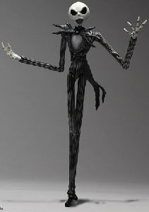 Kingdom Hearts Play Arts - Jack Skellington