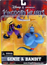 Kingdom Heart - Genie and Bandit