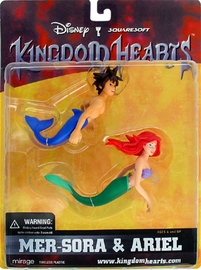 Kingdom Heart - Mer-Sora and Ariel