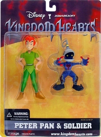 Kingdom Heart - Peter Pan and Soldier