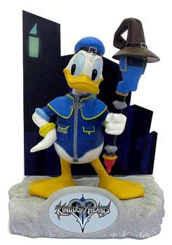 Kingdom Hearts Resin Paperweight - Donald Duck