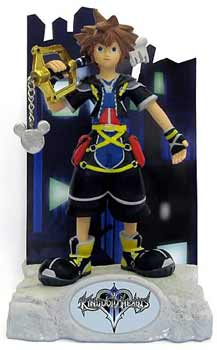 Kingdom Hearts Resin Paperweight - Sora