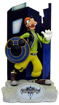 Kingdom Hearts Resin Paperweight - Goofy