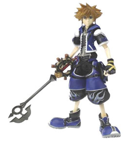 Kingdom Hearts 2: Wisdom Form Sora (Blue Version)