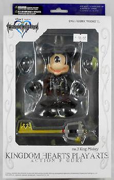 Kingdom Hearts Play Arts - King Mickey[Black Uniform]