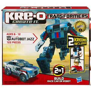 Kre-O Transformers Construction Set - Autobot Jazz
