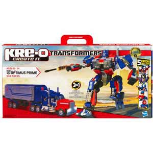 Kre-O Transformers Construction Set - DELUXE Autobot Optimus Prime