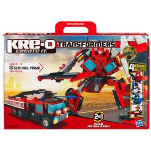 Kre-O Transformers Construction Set - Autobot Sentinel Prime