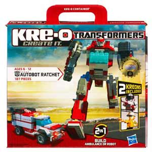 Kre-O Transformers Construction Set - Autobot Ratchet