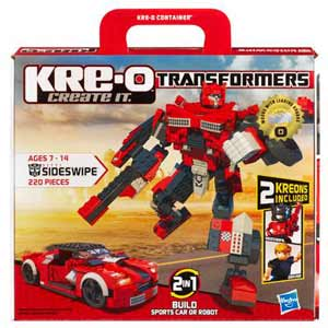 Kre-O Transformers Construction Set - Autobot Sideswipe