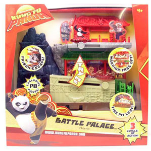 Kung Fu Panda Battle Palace Playset