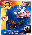 Kung Fu Panda 2 - 2-Pack - Monkey and Mantis VS Lord Shen