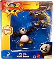Kung Fu Panda 2 - 2-Pack - Po VS Wolf Boss