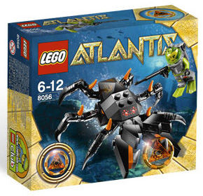 LEGO - Atlantis - Monster Crab Clash 8056
