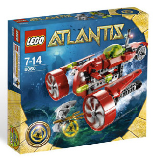 LEGO - Atlantis - Typhoon Turbo Sub 8060