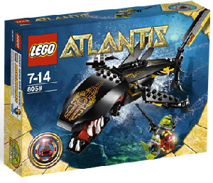 LEGO - Atlantis - Guardian of the Deep 8058