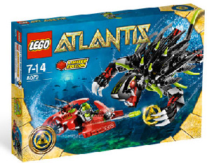 LEGO - Atlantis - Limited Edition Shadow Snapper 8079
