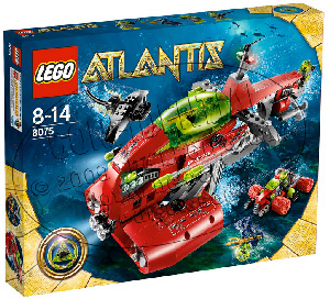 LEGO - Atlantis - Neptune Carrier 8075