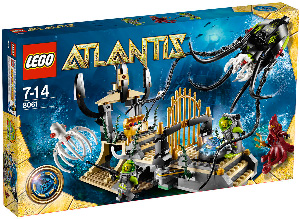 LEGO - Atlantis - Gateway of the Squid 8061