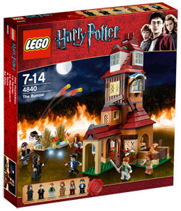 LEGO - Harry Potter - The Burrow[4840]