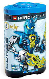 LEGO Hero Factory Mark Surge (Blue) 7169