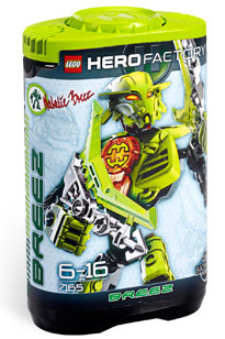 LEGO Hero Factory Natalie Breez (Green) 7165
