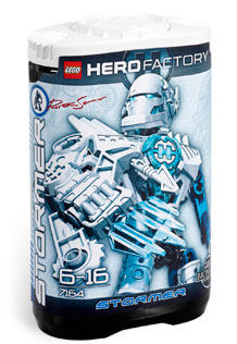 LEGO Hero Factory Preston Stormer (White) 7164