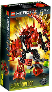 LEGO Hero Factory Xplode (Red) 7147