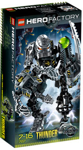 LEGO Hero Factory Thunder (Black) 7157