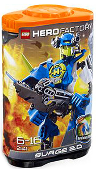 LEGO Hero Factory Surge 2.0 (Blue) 2141