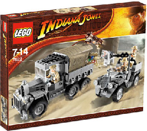 LEGO - Indiana Jones Race For The Stolen Treasure[7622]