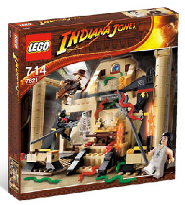 LEGO - Indiana Jones and the Lost Tomb[7621]