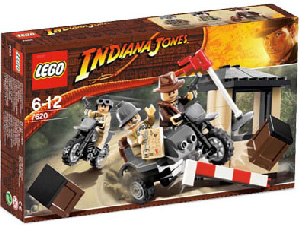 LEGO - Indiana Jones Motorcycle Chase[7620]