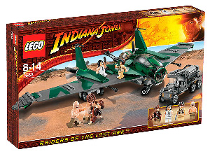 LEGO - Indiana Jones Flight on the Flying Wing[7683]