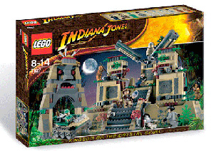 LEGO - Indiana Jones Temple of the Crystal Skull[7627]