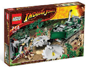 LEGO - Indiana Jones Jungle Cutter[7626]