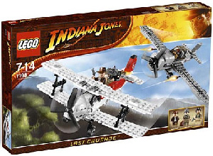 LEGO - Indiana Jones Fighter Plane Attack[7198]