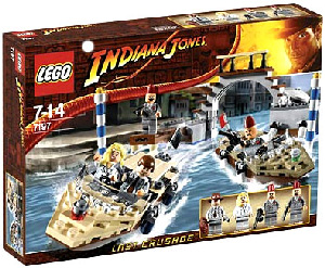 LEGO - Indiana Jones Venice Canal Chase[7197]